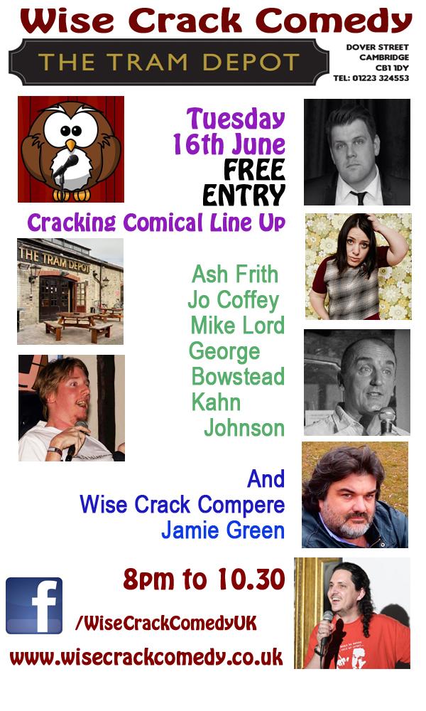 TRAM Wise Crack flyer 16 -6-15